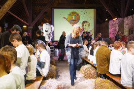 Linda de Mol trapt Nationaal Schoolontbijt af