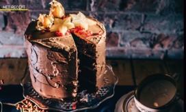 Chocoladetaart met whisky-frosting