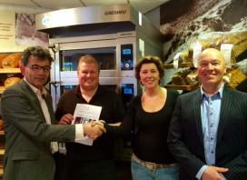 Prijs van Bouwer & Officier en Bakkersbelang voor eigenaren Sturkenboom
