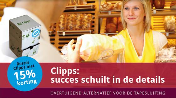 Beko Verpakkingen introduceert Clipps-dispenserbox