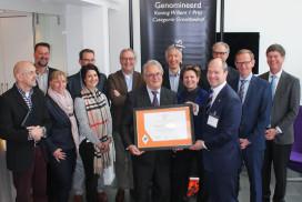 Zeelandia genomineerd voor Koning Willem I Prijs