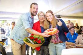 Bakkerij Heerschap viert geslaagde jubileumdag