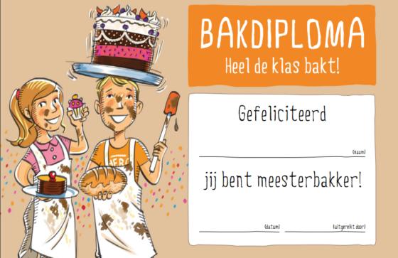 Heel de klas bakt: nieuw schoolproject van Bakeplus en partners