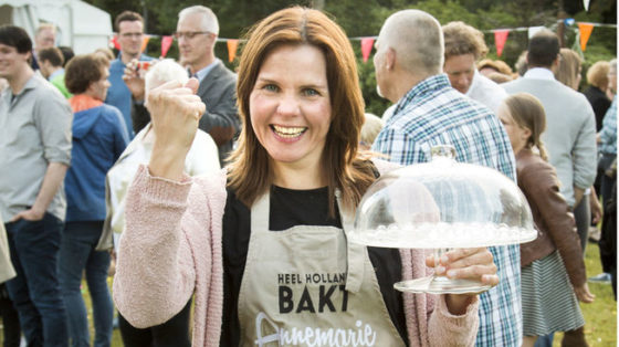 Annemarie wint Heel Holland Bakt