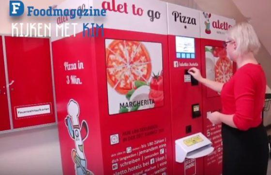 Pizza-automaat in Berlijn (vlog Foodsafari)