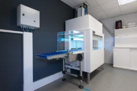 Bioclimatic ontwikkelt testtunnel met UVC-desinfectie
