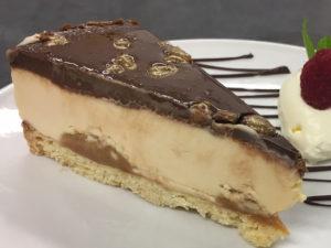 Glutenvrije Billionaires Cake van Dero Foods.