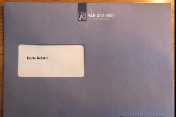 Van der Veer laat relaties delen in 'Traktatieregeling'