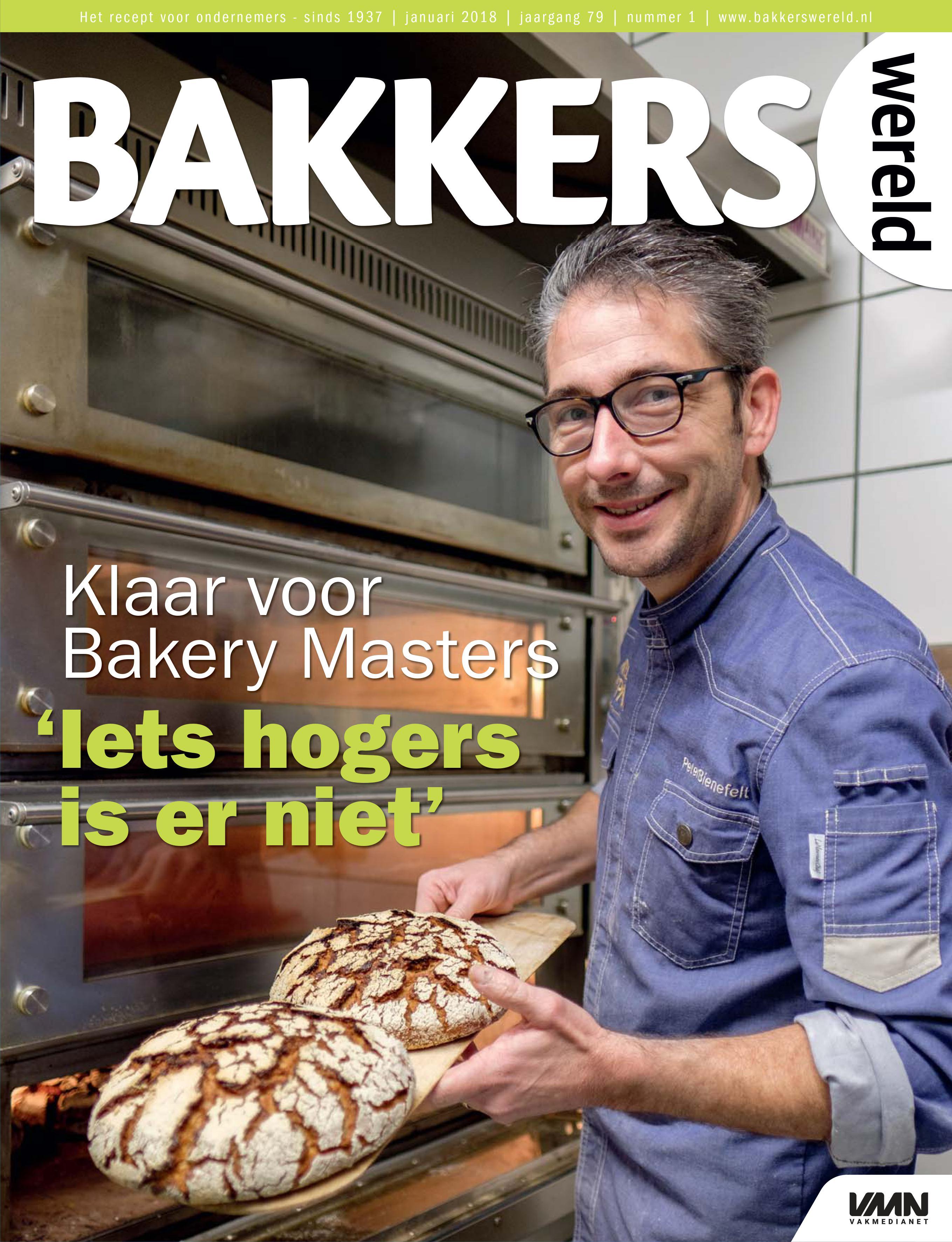 Bakkerswereld nummer 1 2018