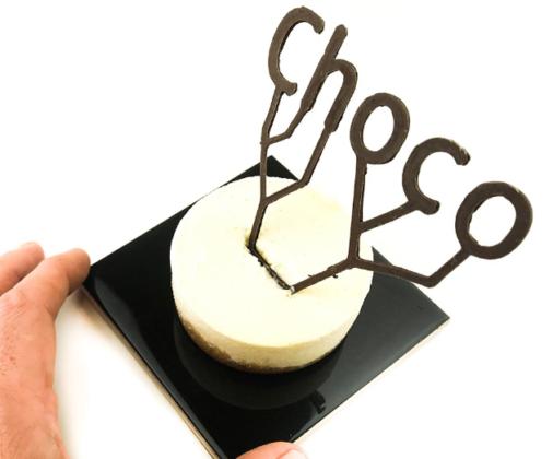 Chocoa 2018 toont 3D chocolade printen
