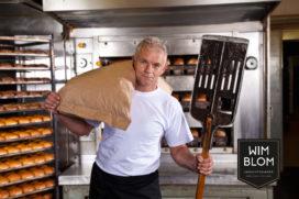 Ambachtsbakker Wim Blom bakt met uitsluitend Nederlandse tarwe
