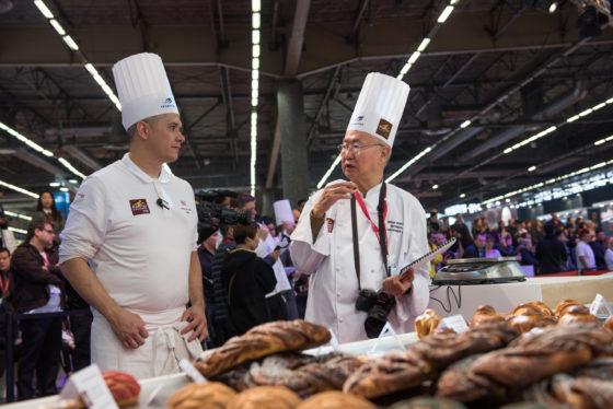 Juryleden tijdens de Bakery Masters. Foto:  Clémentine Bejat