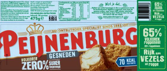 Peijnenburg test volkoren-etiket