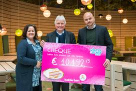 €10.000 voor Villa Pardoes dankzij Bakker Bart-actie