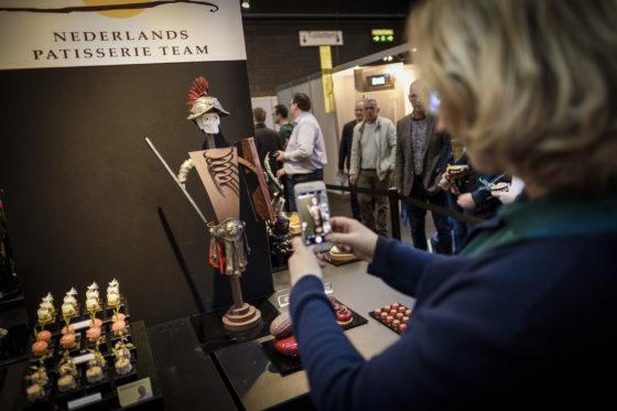De showstukken van het NPT oogsten bewondering bij de bezoekers.  (C) Roel Dijkstra / Joep van der Pal