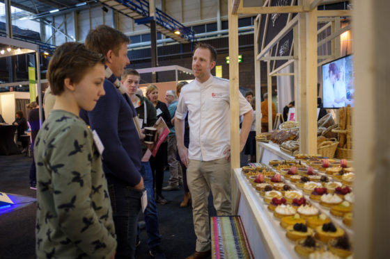 Het Bakery Institute laat zien wat het in huis heeft.  (C) Roel Dijkstra / Joep van der Pal