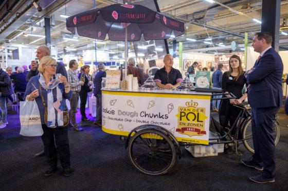 De Bakkersvak 2018 is gecombineerd met de IJsvak. Leveranciers in de bakkerijsector, leveren ook ijs en ijs-benodigdheden.   (C) Roel Dijkstra / Joep van der Pal