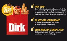 Dirk lanceert versgarantie voor het brood