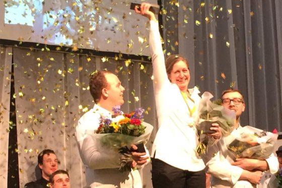 In 2018 won Esther Faasen de Dutch Pastry Award.   Foto: Bakkerswereld