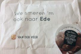 Echte Bakker Van der Veer 'smeert 'm naar Ede'