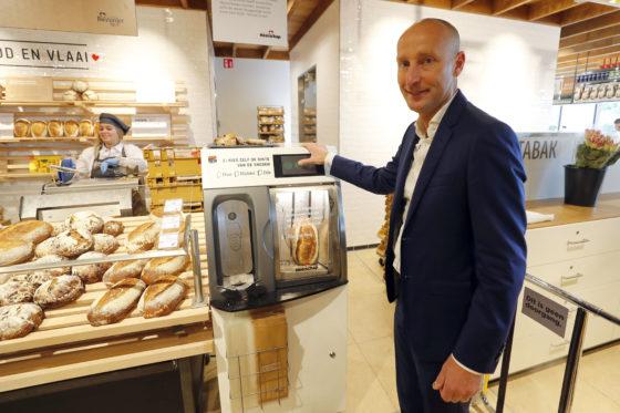 Heerschap test nieuwe bakkerij in Jumbo