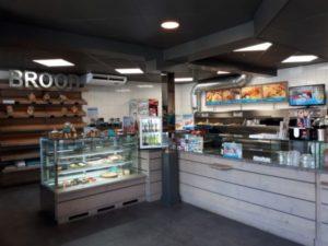 De Aanloop is een cafetaria en bakkerij in één.