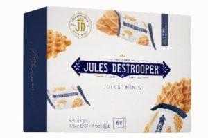 Biscuiterie Jules Destrooper lanceert nieuwe look & feel