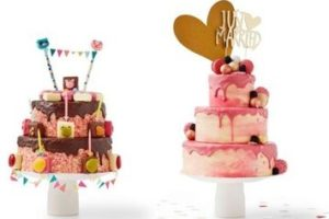 Hema introduceert stapelbare dripcakes