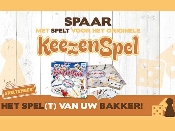 De naam Speltember krijgt volgens Ireks nog een extra dimensie door een complete consumentenactie, waarbij de consument voor het oer-Hollandse Keezenspel kan sparen. Afbeelding: Ireks