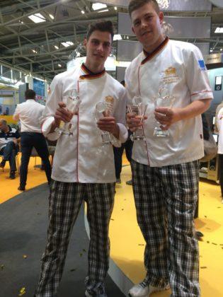 Het Duitse team wordt onder meer geroemd om het fantastische grootbrood dat het bakte.