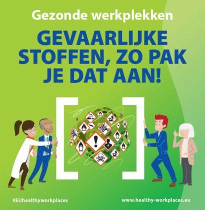 De campagne van het Ministerie van SZW gaat over gezonde werkplekken.