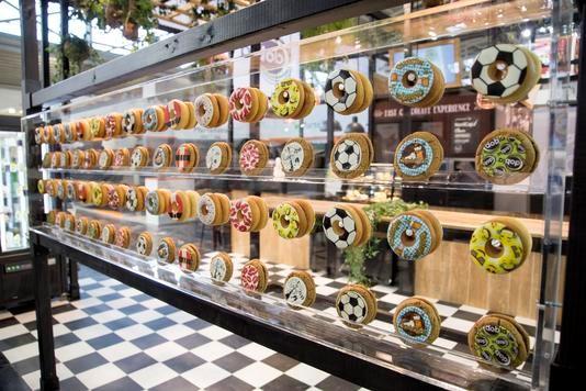 De Donut-en Cookie Toppers zijn onderdeel van de Fast Chocolate Experience.