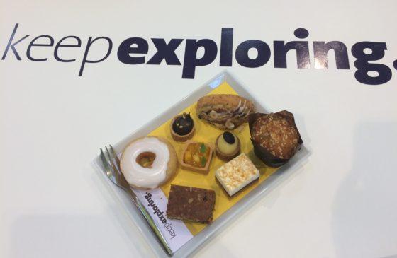 Zeven solutions op één bordje (de cupjes met vullingen tellen voor één): Keep exploring is de boodschap van Zeelandia.  Foto's: Bakkerswereld