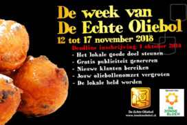 Inschrijving voor 'De week van De Echte Oliebol' gestart