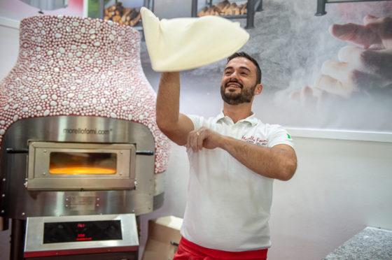 Pizza ist nich gleich Pizza! Morello Forni – Hersteller von Pizzaberufsöfen in der Halle B4.
