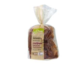 Plus waarschuwt voor noten in Rozijnenbrood