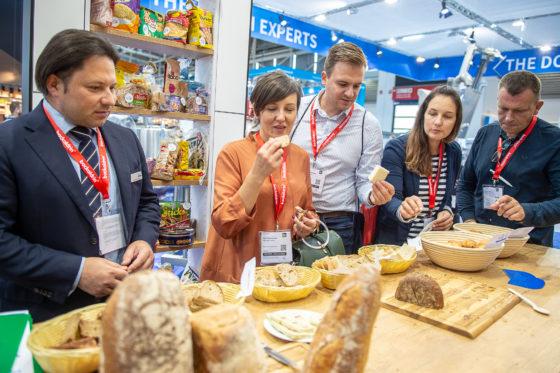 The Dought Experts präsentieren sich in der Halle A2 zum Thema Rohstoffe und Backzutaten.