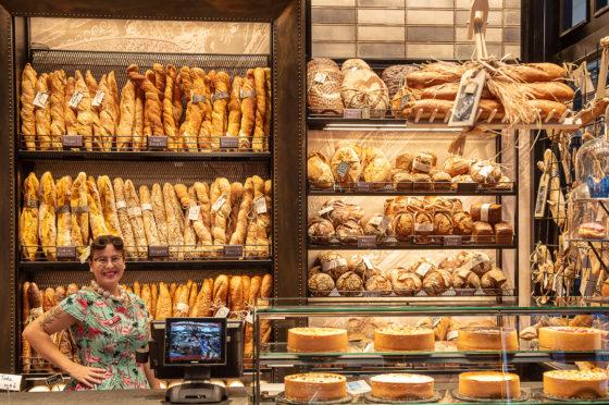In der Halle A4 präsentiert Korte Einrichtungen gemeinsam mit Bagetteria eine Living Bakery.