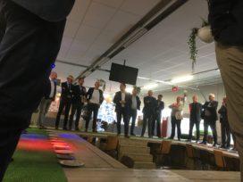 Leden Genootschap onder de indruk van ondernemerschap Bob Hutten