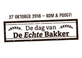 Dag van de Echte Bakker op 27 oktober