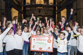 Burgemeester van Maastricht sluit Nationaal Schoolontbijt af in stadhuis