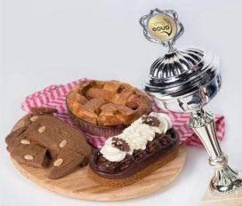 Bakkerij Kees Gutter drie maal in de prijzen met lekkernijen