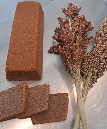 Glutenvrij Zeeuws Sorghum graan voor cake. Foto: Scalda College voor Brood en Banket