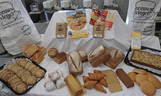 Resultaat van praktijkles Bakken met Zeeuwse Vlegel. Foto: Scalda College voor Brood en Banket