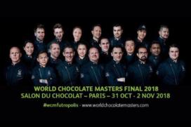 Patrick de Vries strijdt op World Chocolate Masters in Parijs