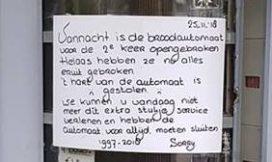Actie Nachtbrood moet Lijnema aan nieuwe broodautomaat helpen