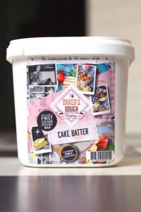 2,5-literbak Cake Batter. Foto: Baker's Dough