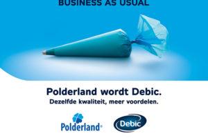 FrieslandCampina doopt Polderland om in Debic