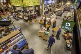 Groei van bevolking en supermarkten