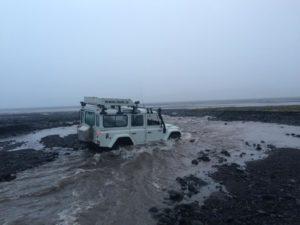De reis van GBA naar IJsland, belooft een avontuurlijke tocht te worden. Foto: Johan Pater